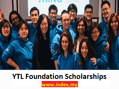 YTL Foundation Scholarship Programme 2020