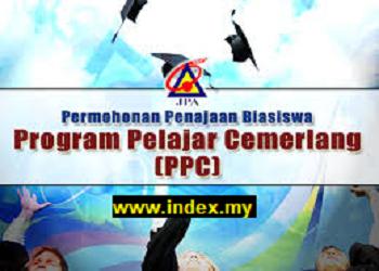 JPA Scholarship – Program Pelajar Cemerlang (PPC)